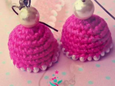 Crochet Earrings by Sapphira Creations -  Part 1