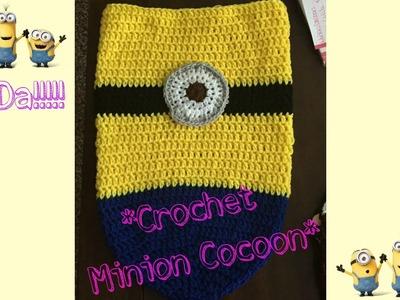 CROCHET MINION COCOON