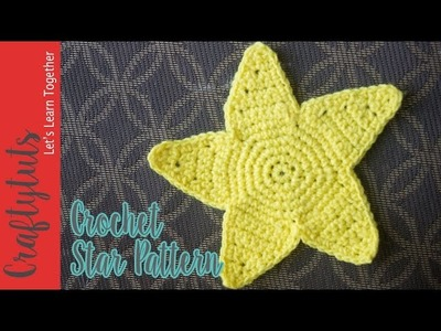 Crochet Star Free Pattern and Tutorial