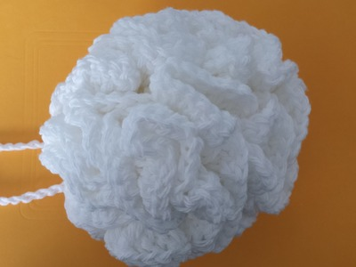 Crocheted Face.Bath Pouf Sponge Tutorial - The Art Of Crochet Project