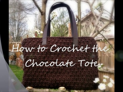 Designing Crochet: Chocolate Tote Stitch Tutorial