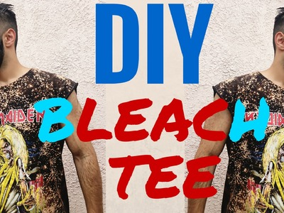 DIY: BLEACH ROCK T-Shirt tutorial part 2