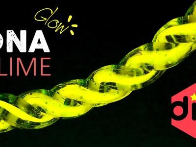 DIY GLOW DNA SLIME !! Neon Clean Slime! - MonsterKids
