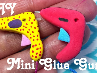 DIY Miniature Doll Glue Gun with Real Glue Sticks