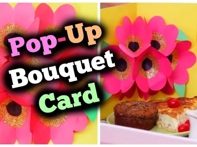 DIY Pop Up Bouquet Card