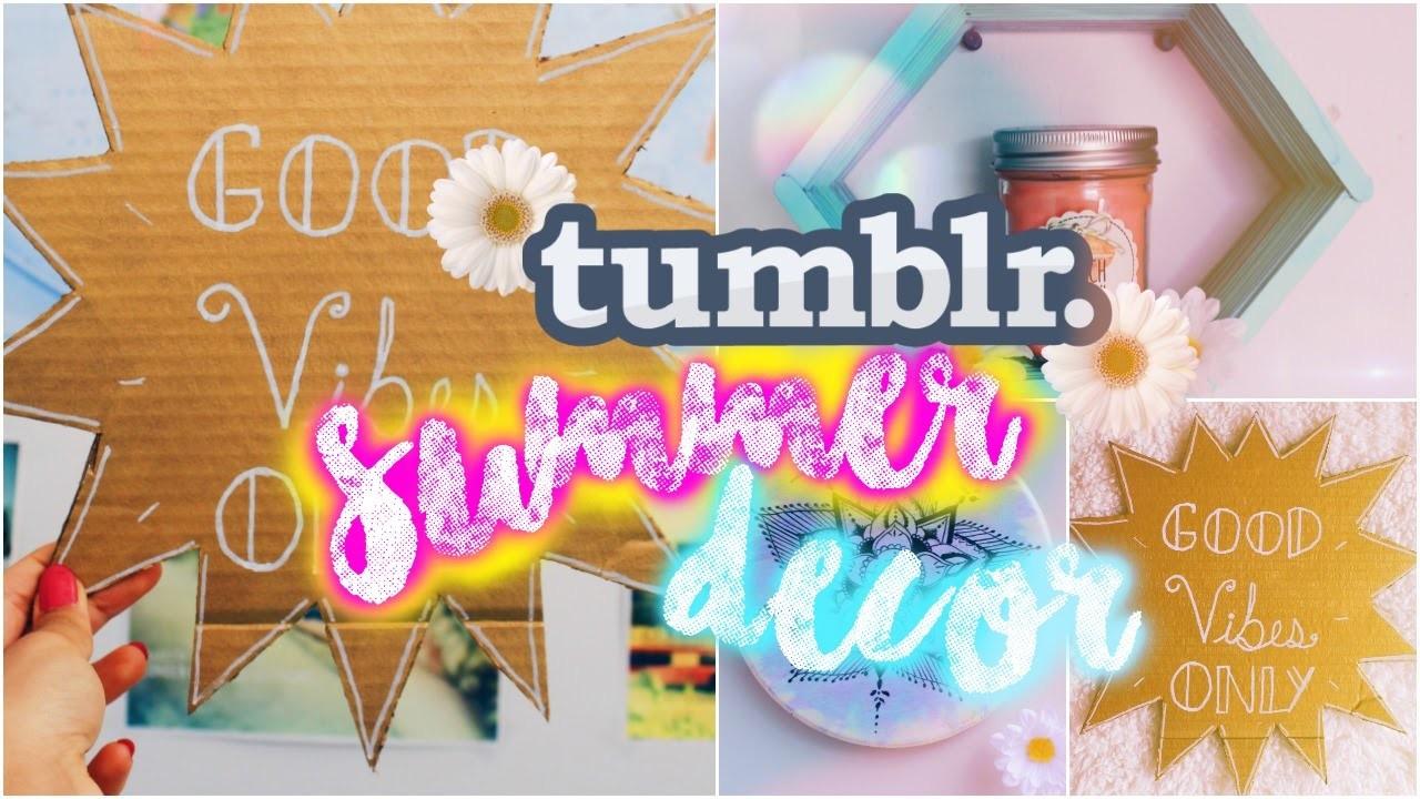 DIY Summer Wall Decor | Tumblr & Pinterest Inspired!