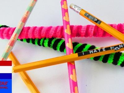 DIY thema van de week - back to school | DEEL 2 | tutorial - do it yourself