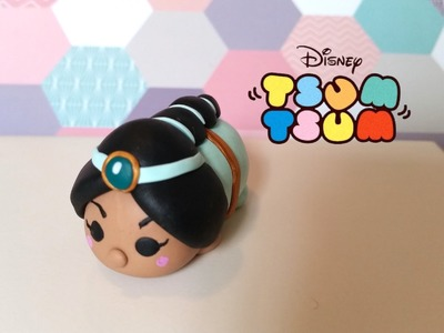 DIY Tsum Tsum Princess Jasmine from Aladdin - Polymer clay tutorial