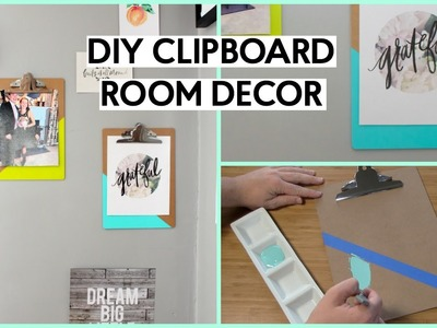 Easy DIY Clipboards for Your Room Decor