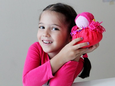 Eco-Makers: How to make a doll from old clothes