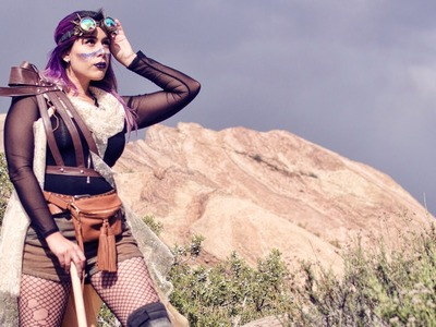Harness and Belt Dress - DIY - Cosmic Confetti Mad Desert