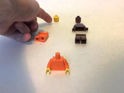 How to build Lego Sack Boy from Little Big Planet