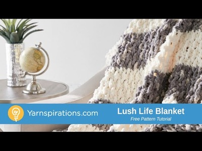 How to Crochet a Blanket: Lush Life Blanket