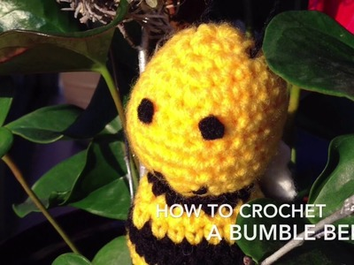 How to Crochet a Bumblebee Part 1