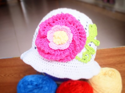 How to Crochet an Owl Hat using Cable Crochet version 1