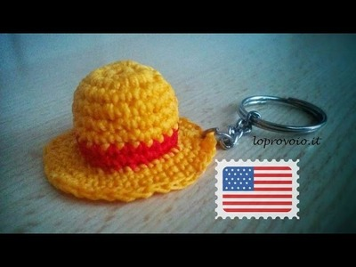 How to crochet One Piece Luffy Straw Hat