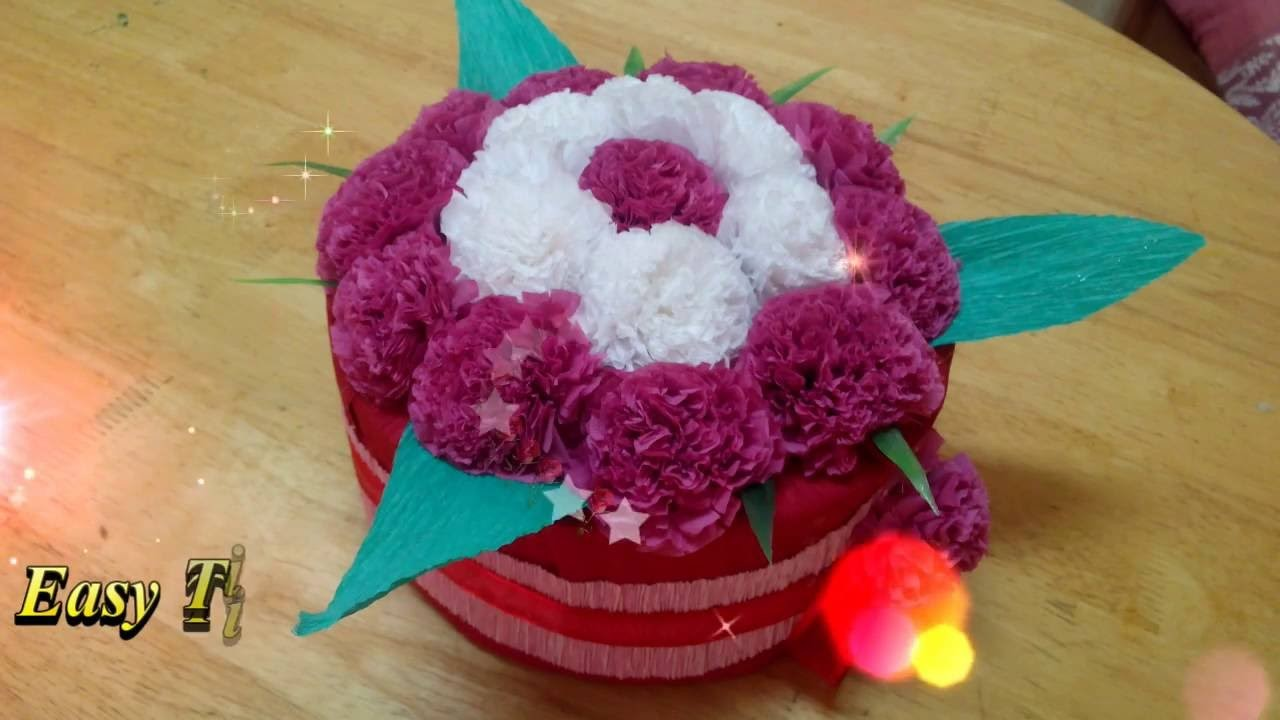 How to make easy tissue paper flowers diy flower bouquets how to make easy tissue paper flowers diy flower bouquets tutorials izmirmasajfo