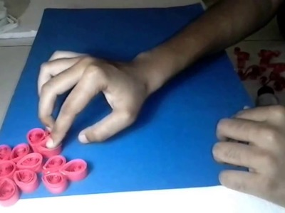 How to make photo frame with quilling