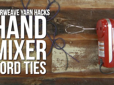 How to Make Twisted Cord with a Hand Mixer