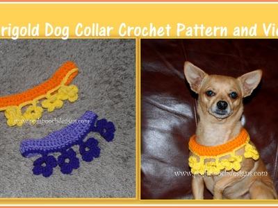 Marigold Collar Crochet Pattern