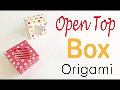 Origami Paper Open Top Box ✨DIY✨ - Origami Kawaii