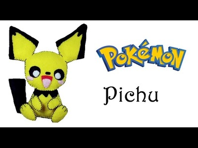 Pokemon: How To Make Pichu Plushie Tutorial
