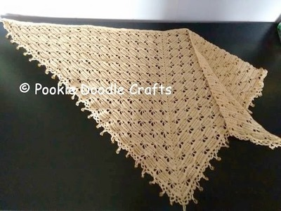 Tutorial adding beads to a crochet edging