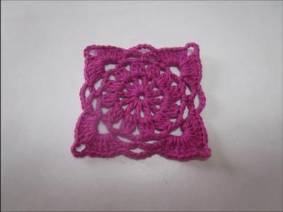 Uncinetto  Crochet  Square  tutorial