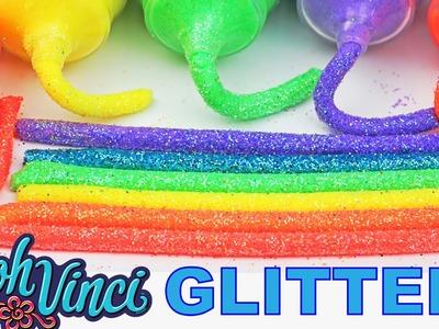 DIY How To Make Dohvinci Play Dough Glitter Rainbow PlayDoh