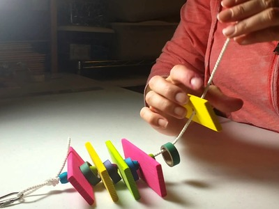 How Make Bird Toys - Tying Knots