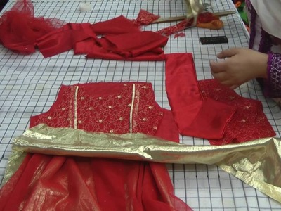 How to assemble baby dress