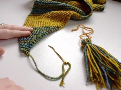How to create a 2-color tassel