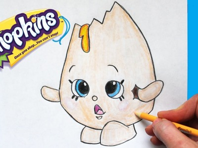 """How to Draw Shopkins Season 1 """"Googy"""" 
