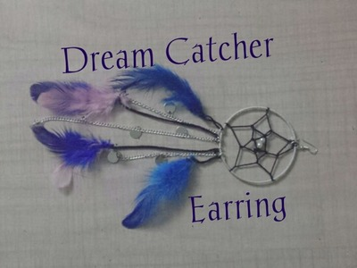 How To: Dream Catcher Earring
