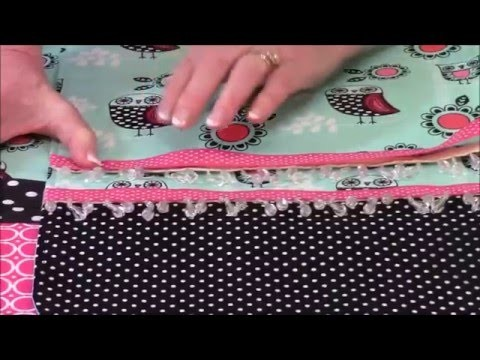 How to Embellish a Table Runner