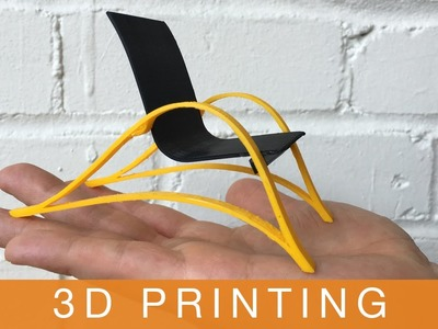How to Make a Chair | Episode 4: 3D PRINTING