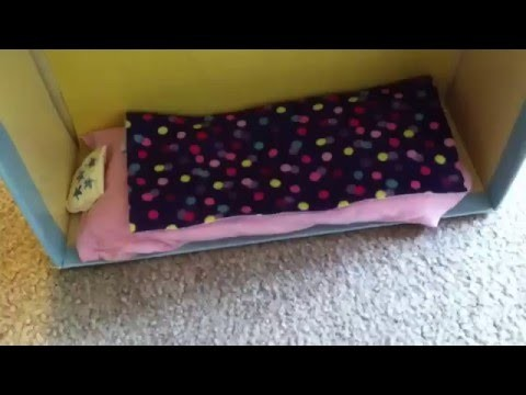 How To Make A Doll Bunk Bed Doll Mattress No Sew Pillow