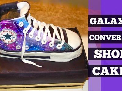 How To Make A Galaxy Converse Shoe Cake