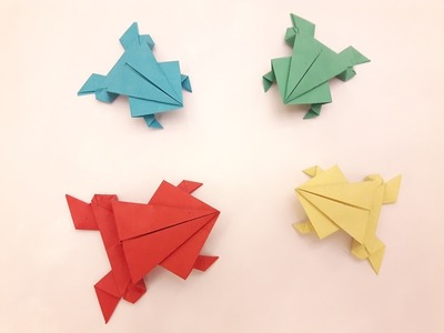 How to make a Paper frog?