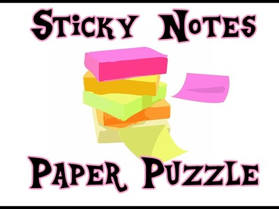 How to Make a Paper Puzzle