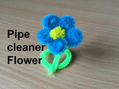 How to make a pipe cleaner Flower