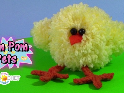 How To Make a Pom Pom Baby Chick Tutorial