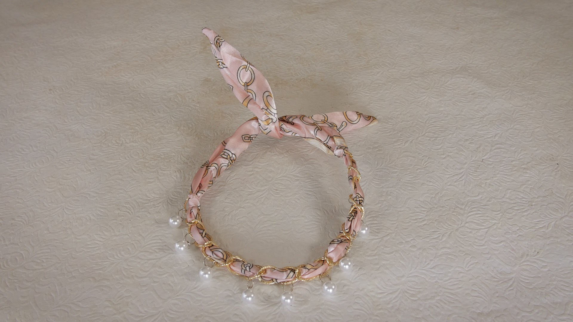 How to make a Silk and Bead Necklace