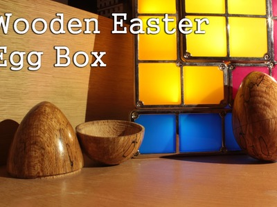 How to make a Wooden Easter egg box #8