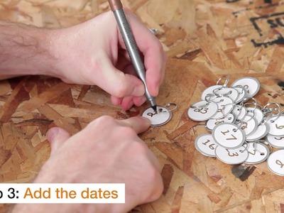 How to Make an Advent Calendar: Step 3