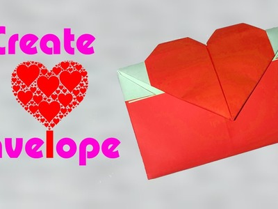 How to Make an Origami Heart Envelope for your Lover