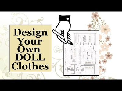 How to Make Doll Clothes Patterns: Shirt