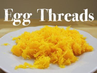 How to make Egg Threads | Fios de Ovos receita