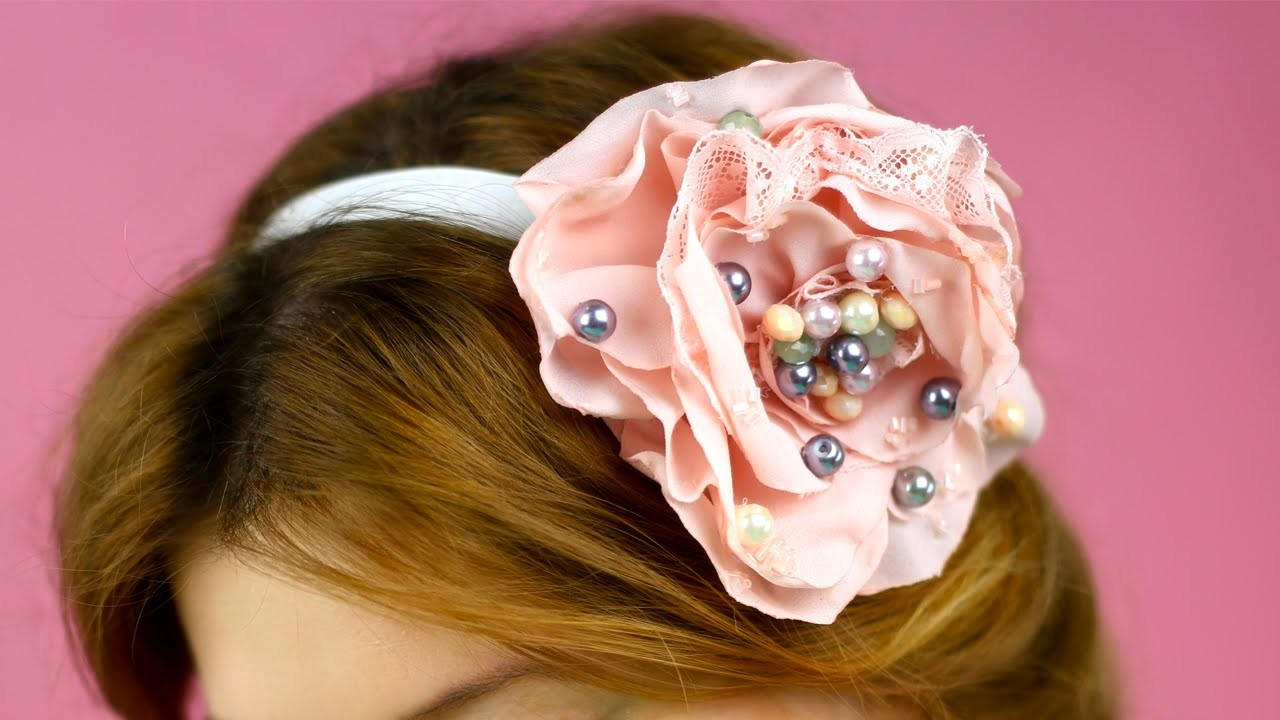 How to Make Flower Hair Band