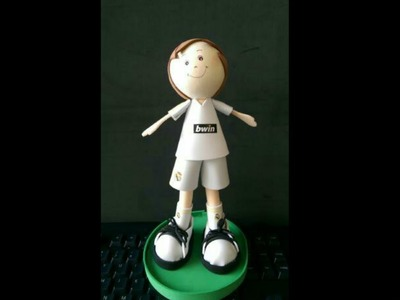 How to make fofucha football player. Como crear jugador de Fofucha Football Real Madrid